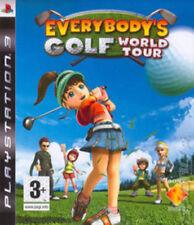 Todos Golf: World Tour (PS3 Juego) * muy Buen Estado *