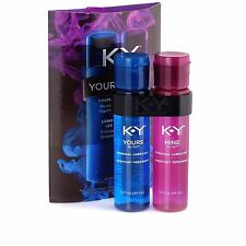 KY Yours + Mine Couples Personal Lubricants, 3.0 Ounce -FREE WORLDWIDE SHIPPING-