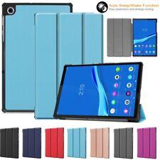 For Lenovo Tab 4 8/5 10 Plus P10 E10 M10 Tablet Case Slim Smart Shell Fold Cover
