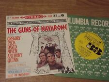 OST BO THE GUNS OF NAVARONE Dimitri Tiomkin soundtrack