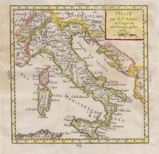 1783 Vaugondy Map of Italy