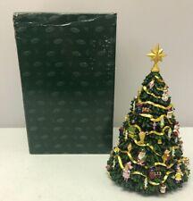 San Francisco Music Box Company Rotating Tree Figurine Plays O Christmas Tree
