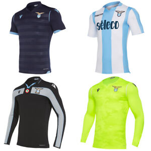 Lazio Rom macron Herren Auswärts Heim Torwart Oberteil Fan Fußball Trikot neu
