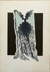 Marcello Guasti incisione Torre d'Acqua 65x46 firmata numerata cartella Bisonte