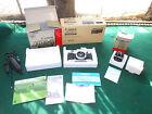 MIB Canon AE-1 Program 35mm SLR Film Camera Kit w/1.8 50mm FD Lens w/Boxes Clean