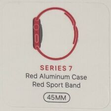 Apple Watch Series 7 45mm Product Red Aluminum Red Sport Band GPS + Cellular LTE