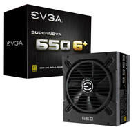 EVGA SuperNOVA 650 G1+, 80+ Gold, Fully Modular,10 Year Warranty, 120-GP-0650-X1
