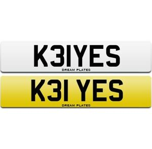 KEYES number plate K31 YES personal cherished private plate