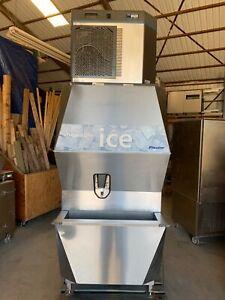 Follett HCC1400A Chewable Ice Machine w ID650 Bin