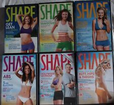 6 Shape DVD lot Sculpt your abs ultimate bikini Body workout butt hips thighs