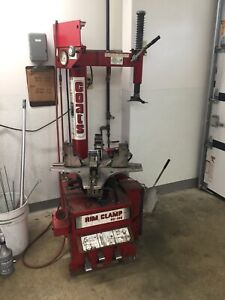 USED COATS RC-100 RC100 MOTORCYCLE TIRE CHANGE MACHINE