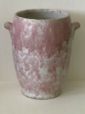 Antique Weller Roseville Art Pottery Carnelian II Red Curdled Frosted Matte Vase