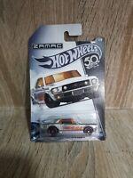 "Hot Wheels #63146 Zamac 1967 Ford Mustang GT ""50th Anniversary"" ©2017 MOCard"