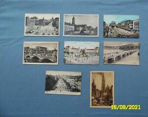 Trolleys in Europe,8 Vintage, Belgium-Antwerp & Brussels,Berlin,Karlsruhe,Geneva