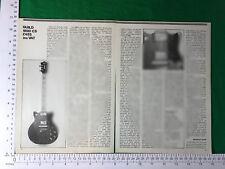 Guild M80 CS Guitare Électrique Vintage Article/REVUE/fonction de 1980