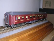 "BRASS The P Company  P.R.R. Modernized 12-2-3 Sleeper ""Keystone Banks"" H.O. 1/87"