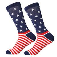 USA Flag  Mens Cotton Socks,American Flag Socks,US National Flag Mans Long SOX