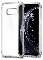 Shockproof Silicone Protective Clear Case Cove for Samsung Galaxy S6 S7 S8 S9+