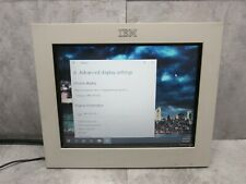 "IBM 4820-2WB 12"" LCD Touch Screen Display SurePoint POS Monitor 07K6063"