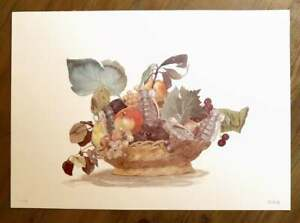 Escif Cesta Con Fruta Limited Edition Print (Banksy, Kaws, Fairey)