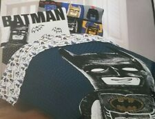 2 pc Batman Full Microfiber Comforter & Decorative Pillow NIP