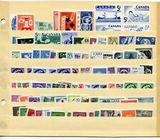 LOT 66413 CANADA  MINT NH CANADIAN STAMP  COLLECTION FROM THE 1950'S