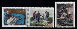Frankreich 1962 Yv. 1363-365 Postfrisch 100% Vierer Block Persönlichkeit