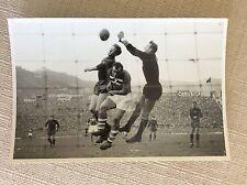 CALCIO ANNI '50 MATCH DERBY GENOVA  SAMPDORIA -  GENOA STADIO MARASSI FOTO EPOCA