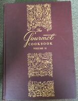 The Gourmet Cookbook Volume 2 Compiled & Edited 1957 Hardcover 2nd Printing