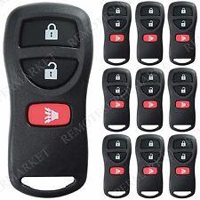 Lot 10 Wholesale Bulk Remote Fob for Nissan 04-09 Quest 07-12 Sentra 04-14 Titan