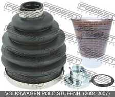 Boot Outer Cv Joint Kit 82.5X112.85X25.2 For Volkswagen Polo Stufenh.