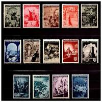 37590) Bulgaria 1942 MNH History 14v Scott #420/33