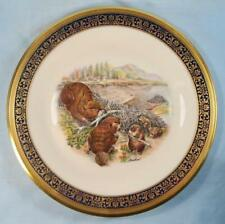 Beavers Woodland Wildlife Lenox Decorative Collector Plate Limited Edition (O)