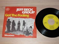 """JEFF BECK GROUP 7"""" SINGLE - A OBTENU LE FEELING / ALLEMAND EPIC NEUF"""