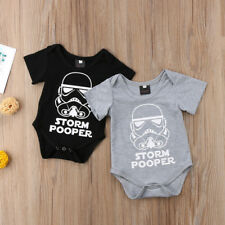Newborn Star Wars Baby Boy Girl Bodysuit Romper Jumpsuit Clothes Outfit 0-18M AU
