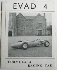 EVAD 4 Formula 4 Racing Car Sales Brochure
