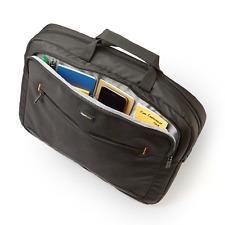"""*BEST Laptop Case Bags 17.3"""" Slim Travel Protector Bag, & Shoulder Strap BLACK"""