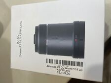 Dji Zenmuse DL lens 24mm 2.8 brand new with invoice