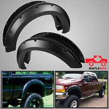 1999-2007 Ford F250 SD/F350 SD Fender Flares Pocket Style Riveted 4pc Kit