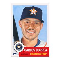 Topps MLB Living Set Card #393 - Carlos Correa - Houston Astros - PR 2007