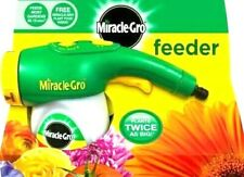 MIRACLE GRO Feeder Connects To Hose Contains FREE Miracle Gro Feed Inside
