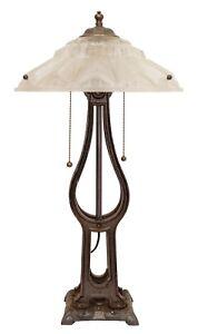 """Art Déco Unique """" Chrysler Weighbridge """" Table Lamp Prunkleuchte Libra 1930"""