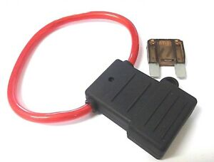 Maxi blade fuse holder. Splash proof. In Line. *Free 70 Amp fuse! *Top Quality!