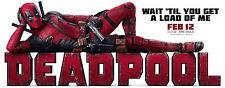 24X36Inch Art Deadpool Poster New 2016 Movie Marvel Hero PZ029