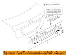 SUBARU OEM 12-15 Impreza Exterior-Rear-Black Out Tape Right 90422FJ061