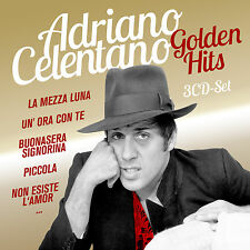 CD Adriano Celentano Golden Hits   3CDs