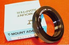 T-MOUNT for Pentax K. NEW ! Made in Japan.