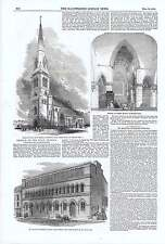 1850 Holy Trinity Church Haverstock Hill St Martin's Northern Schools Longacre