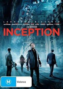 Inception DVD - Action Sci Fi - Leonardo Dicaprio REGION 4