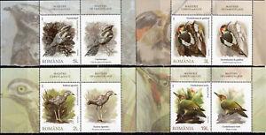ROMANIA 2018 Birds, Vögel, Fauna, MNH